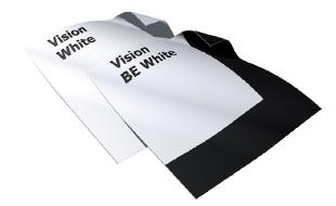 La Vision White e la Vision White Pro